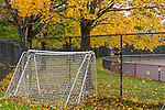 Fall foliage at Memorial Park in East Boston, Massachusetts, USA