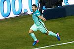 FC Barcelona's Luis Suarez celebrates goal during Spanish Kings Cup semifinal 1st leg match. February 01,2017. (ALTERPHOTOS/Acero)
