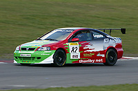 Round 1 of the 2006 British Touring car Championship. #82 Fiona Leggate (GBR). Thurlby Motors Boston Bowl with Tech-Speed. Vauxhall Astra Coupe.