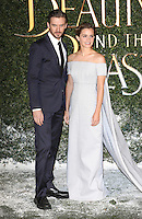 """Dan Stevens and Emma Watson<br /> arrives for the """"Beauty and the Beast"""" screening, St.James', London.<br /> <br /> <br /> ©Ash Knotek  D3234  23/02/2017"""