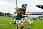 Colin Walsh, Kerry in action against Martin O'Brien, Wicklow in the Allianz National Hurling League Division 2A Round 4 at Austin Stack Park, Tralee on Saturday.