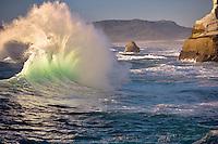 Wave of Cape Kiwanda. Oregon