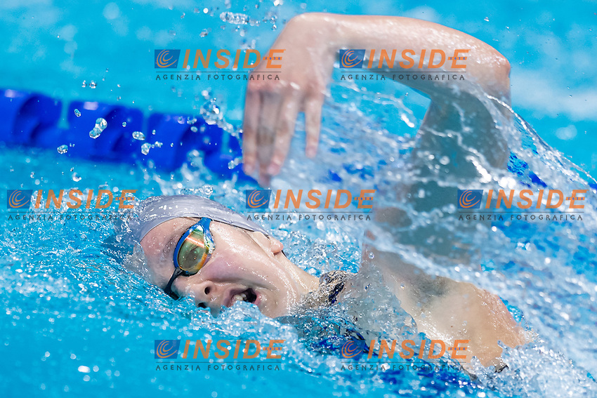 MACULA Jona KOS<br /> 200m Freestyle Women Heats<br /> Swimming<br /> Budapest  - Hungary  19/5/2021<br /> Duna Arena<br /> XXXV LEN European Aquatic Championships<br /> Photo Giorgio Scala / Deepbluemedia / Insidefoto