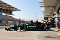 13th November 2020; Istanbul Park, Istanbul, Turkey; FIA Formula One World Championship 2020, Grand Prix of Turkey, Free practise sessions;  44 Lewis Hamilton GBR, Mercedes-AMG Petronas Formula One Team