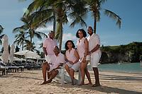 Getachen-Smith family at Princess Beach Club
