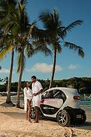 Eric and Brittanie Williams at Princess Beach Club