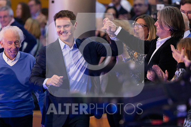 "President of citizen Albert Rivera during the citizen meeting ""Espana en marcha"". October 24, 2019. (ALTERPHOTOS/Johana Hernandez)"