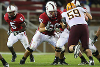 29 September 2007: Stanford Cardinal Alex Fletcher during Stanford's 41-3 loss against the Arizona State Sun Devils at Stanford Stadium in Stanford, CA.