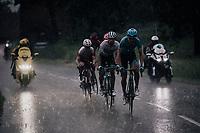 Magnus Cort Nielsen (DEN/Astana) leading the way<br /> <br /> Stage 7: Saint-Genix-les-Villages to Pipay  (133km)<br /> 71st Critérium du Dauphiné 2019 (2.UWT)<br /> <br /> ©kramon
