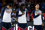 Rudy Gay (l)Kenneth Faried(centre)Derrick Rose (right) of United States of America during FIBA Basketball World Cup 2014 group C between United States of America vs Turkey  on August 31, 2014 at the Bilbao Arena stadium in Bilbao, Spain. Photo by Nacho Cubero / Power Sport Images