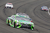 2017 Monster Energy NASCAR Cup Series<br /> Auto Club 400 Auto Club Speedway, Fontana, CA USA<br /> Sunday 26 March 2017<br /> Kyle Busch, Interstate Batteries Toyota Camry and Erik Jones, Toyota Service Centers Toyota Camry<br /> World Copyright: Russell LaBounty/LAT Images<br /> ref: Digital Image 17FON1rl_6017