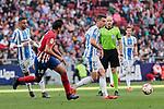 Atletico de Madrid's Rodrigo Hernandez and CD Leganes's Mikel Vesga during La Liga match between Atletico de Madrid and CD Leganes at Wanda Metropolitano stadium in Madrid, Spain. March 09, 2019. (ALTERPHOTOS/A. Perez Meca)