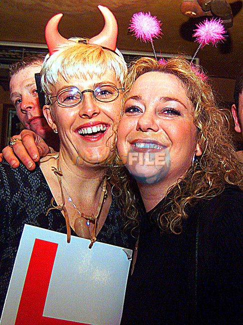 Sharon Bannon and Margaret McLeughin on a Hen night in the Westcourt..Pic Tony Campbell/Newsfile
