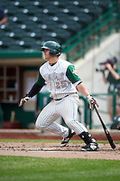 Fort Wayne TinCaps designated hitter Ty France (25) during the second game of a doubleheader against the Great Lakes Loons on May 11, 2016 at Parkview Field in Fort Wayne, Indiana.  Great Lakes defeated Fort Wayne 5-0.  (Mike Janes/Four Seam Images)