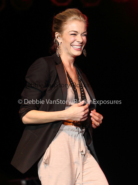 Country Music star Leann Rimes performs at Dover Downs hotel and casino in Dover, Delaware April 1, 2011. .Copyright EML/Rockinexposures.com.