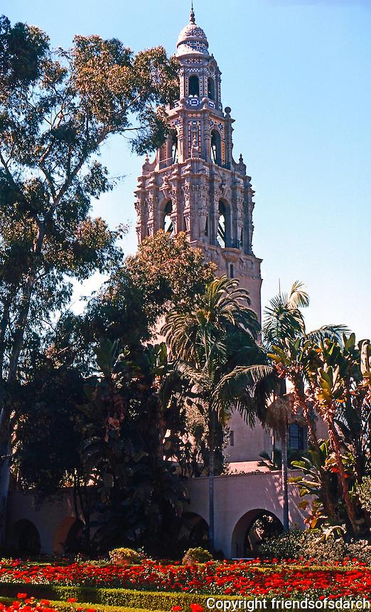 San Diego: Balboa Park, Museum of Man. Photo '78.