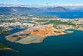 Vue aérienne du site de l'usine de Doniambo SLN (Société Le Nickel - Groupe Eramet), Nouméa, Nouvelle-Calédonie