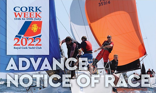 Cork Week 2022 - The ICRA National Championships and the 1720 European Championships are already signed up