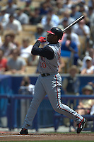 Ken Griffey Jr. Cincinnati Reds vs Los Angeles Dodgers. Los Angeles, CA 5/16/2004 MANDATORY CREDIT: Brad Mangin