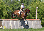 11 July 2009: Becky Holder riding Rejuvenate during the cross country phase of the CIC 3* Maui Jim Horse Trials at Lamplight Equestrian Center in Wayne, Illinois.