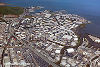 aerial photograph South San Francisco biotech biotechnology district