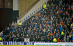 27.02.2019: Rangers v Dundee: Union Bears without flags, banners or songs tonight