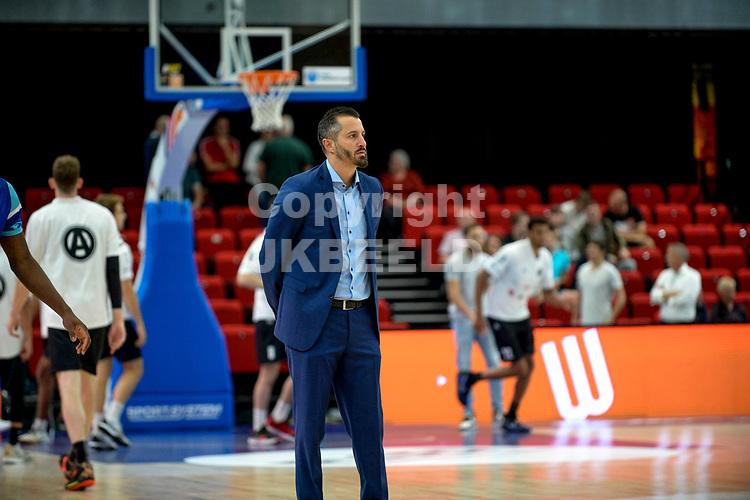 GRONINGEN - Basketbal, Donar - Apollo Amsterdam , Dutch Basketbal League, seizoen 2021-2022, 26-09-2021,  Donar coach Matthew Otten