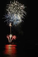 Fireworks, 4th of July, Ali'i dr, Kailua Kona, The Big Island of Hawaii