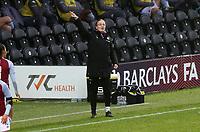 Gemma Davies manager of Aston Villa giving instructions during Tottenham Hotspur Women vs Aston Villa Women, Barclays FA Women's Super League Football at the Hive Stadium on 13th December 2020