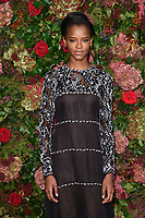 Letitia Wright<br /> arriving for the 2018 Evening Standard Theatre Awards at the Theatre Royal Drury Lane, London<br /> <br /> ©Ash Knotek  D3460  18/11/2018
