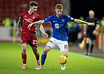 Aberdeen v St Johnstone…..05.02.20   Pittodrie   SPFL<br />David Wotherspoon and Matty Kennedy<br />Picture by Graeme Hart.<br />Copyright Perthshire Picture Agency<br />Tel: 01738 623350  Mobile: 07990 594431