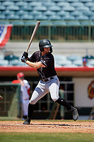 Jupiter Hammerheads Connor Grant (13) at bat during a Florida State League game against the Florida Fire Frogs on April 11, 2019 at Osceola County Stadium in Kissimmee, Florida.  Jupiter defeated Florida 2-0.  (Mike Janes/Four Seam Images)