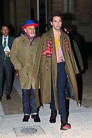 Mika et Christian Louboutin<br /> Parigi 22/01/2020<br /> Settimana della moda di Parigi <br /> Moda Donna - Giorgio Armani Ospiti <br /> Photo Gwendolin Le Goff/Panoramic/Insidefoto <br /> Italy Only