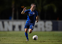 Miami, FL - Tuesday, October 15, 2019:  Brooks Lennon #11 during a friendly match between the USMNT U-23 and El Salvador at FIU Soccer Stadium.