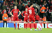 Liverpool's James Milner looks dejected at the final whistle<br /> <br /> Photographer Rich Linley/CameraSport<br /> <br /> UEFA Champions League Round of 16 Second Leg - Liverpool v Atletico Madrid - Wednesday 11th March 2020 - Anfield - Liverpool<br />  <br /> World Copyright © 2020 CameraSport. All rights reserved. 43 Linden Ave. Countesthorpe. Leicester. England. LE8 5PG - Tel: +44 (0) 116 277 4147 - admin@camerasport.com - www.camerasport.com