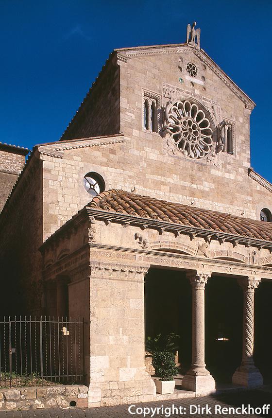 Italien, Umbrien, Santa Maria Assunta in Lugnano in Teverina, 12. Jh.