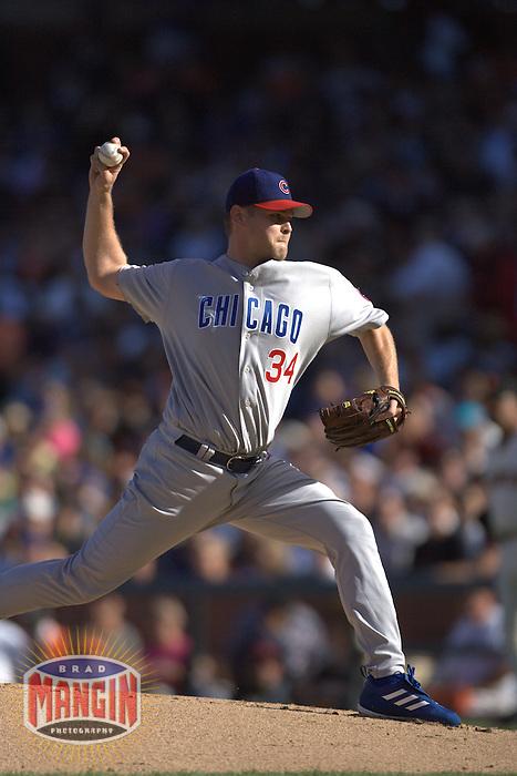 Kerry Wood. Baseball: Chicago Cubs vs San Francisco Giants. San Francisco, CA 8/8/2004 MANDATORY CREDIT: Brad Mangin