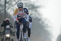 Paris-Roubaix 2013 RECON at Bois de Wallers-Arenberg..Jürgen Roelandts (BEL)