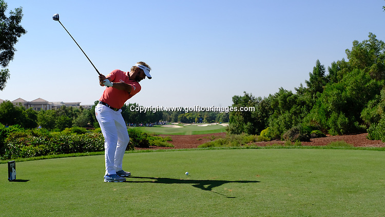Joost LUITEN (NED) during round two of the 2016 DP World Tour Championships played over the Earth Course at Jumeirah Golf Estates, Dubai, UAE: Picture Stuart Adams, www.golftourimages.com: 11/18/16