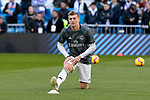 Real Madrid's Toni Kroos warms up during La Liga match between Real Madrid and Girona FC at Santiago Bernabeu Stadium in Madrid, Spain. February 17, 2019. (ALTERPHOTOS/A. Perez Meca)