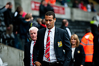 Saturday 17 August 2013<br /> <br /> Pictured: Rio Ferdinand of Manchester United<br /> <br /> Re: Barclays Premier League Swansea City v Manchester United at the Liberty Stadium, Swansea, Wales