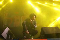 Recife (PE), 24/02/2020 - Carnaval-Recife - Emicida durante show realizado no Polo do bairro do Alto Jose do Pinho, zona norte do Recife nesta segunda-feira (24), fazendo parte da programacao do Carnaval da cidade. (Foto: Pedro De Paula/Codigo 19/Codigo 19)
