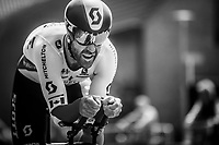 Canadian National TT Champion Svein Tuft (CAN/Mitchelton Scott) <br /> <br /> Binckbank Tour 2018 (UCI World Tour)<br /> Stage 2: ITT Venray (NL) 12.7km