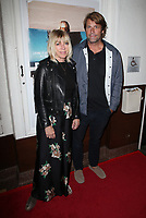 SANTA MONICA, CA - NOVEMBER 1: Kim Gordon, Jamie Brisick, at the Los Angeles Premiere of documentary Bunker77 at the Aero Theater in Santa Monica, California on November 1, 2017. Credit: Faye Sadou/MediaPunch /NortePhoto.com