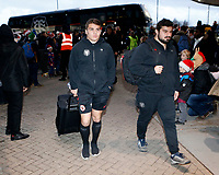 Photo: Richard Lane/Richard Lane Photography. Wasps v Toulouse.  European Rugby Champions Cup. 08/12/2018. Toulouse players arrive.