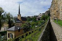 Kirche St. Jean Baptiste (Johannes)  in Grund, Stadt Luxemburg, Luxemburg