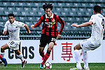 FC Seoul Midfielder Yoon Seung Won (c) in action during the 2017 Lunar New Year Cup match between Auckland City FC (NZL) vs FC Seoul (KOR) on January 28, 2017 in Hong Kong, Hong Kong. Photo by Marcio Rodrigo Machado/Power Sport Images