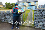 Beale GAA: John Dee of Belle GAA about to set off to make groceries delivery.