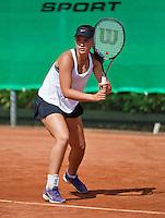 August 9, 2014, Netherlands, Rotterdam, TV Victoria, Tennis, National Junior Championships, NJK,  Liza Lebedzeva (NED)<br /> Photo: Tennisimages/Henk Koster