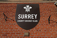 Surrey CCC signage ahead of Surrey CCC vs Essex CCC, Specsavers County Championship Division 1 Cricket at the Kia Oval on 11th April 2019